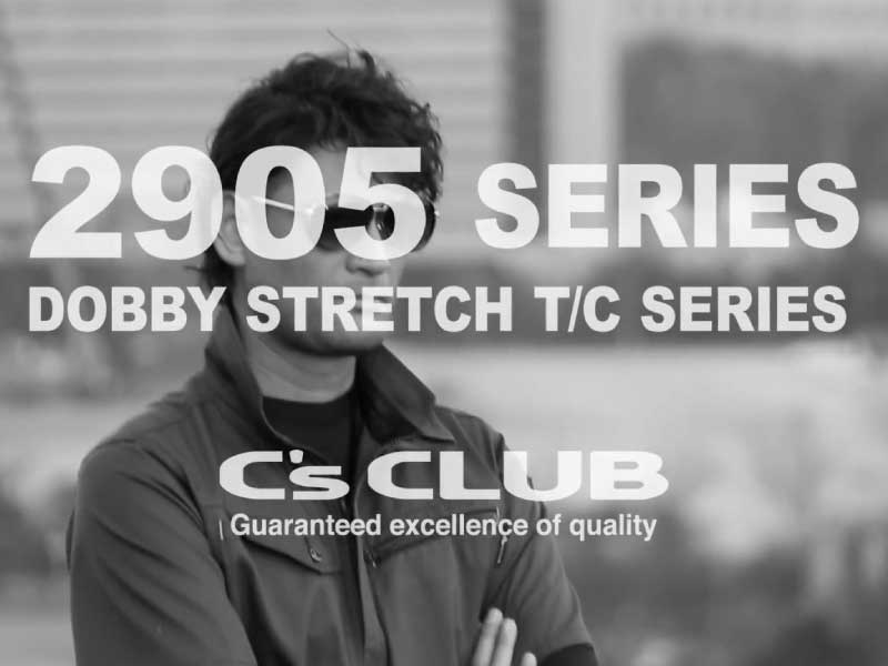 C's CLUB 2905SERIES DOBBY STRETCH T/C SERIES