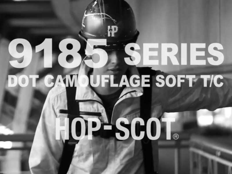 HOP-SCOT 9185SERIES DOT CAMOUFLAGE SOFT T/C